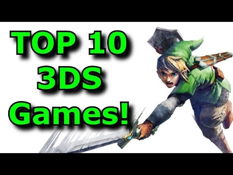 Top 10 Must Play Nintendo 3ds Games Youtube