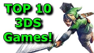 Top 10 Must Play Nintendo 3ds Games!