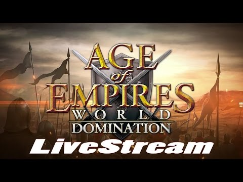 Age of Empires: World Domination (by KLab Global Pte. Ltd.) - iOS / Android - HD LiveStream