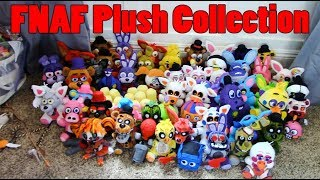 My AWESOME FNAF Plush Collection