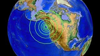 4/24/2015 -- West Coast Earthquake Unrest -- 6.2M strikes Vancouver BC in forecast area