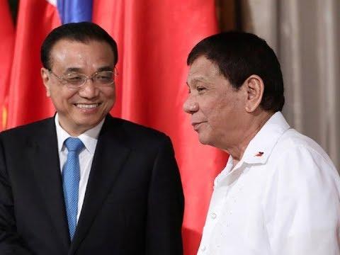 Pres. Duterte, inalok ang China na maging third telecom carrier sa bansa