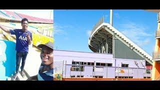 FIRST VLOG:: MY VISIT TO THE ACCRA SPORTS STADIUM (NEWLY REFURBISHED)