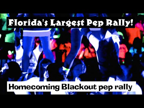 George Jenkins High School- Largest (Blackout) Pep Rally In Florida 2018