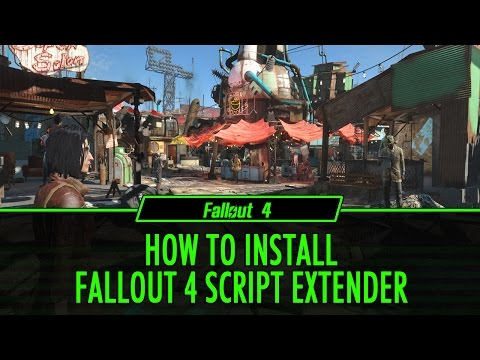 Fallout 4' Script Extender Is Now Out And Does What