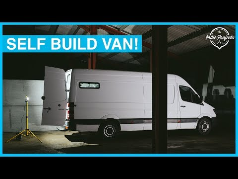 Prepping Our Van for it's Tiny Home Conversion! Sprinter Van Build