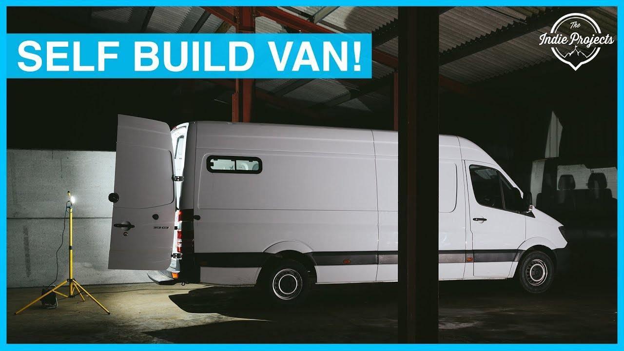 Prepping Our Van for its Tiny Home Conversion! Sprinter Van Build