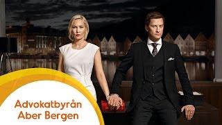 Rykande färskt norskt kriminaldrama: Advokatbyrån Aber Bergen - snart på Viafree!
