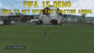 How to get into the Arena in Fifa 15 Demo! [TUTORIAL] [PC] Thumbnail