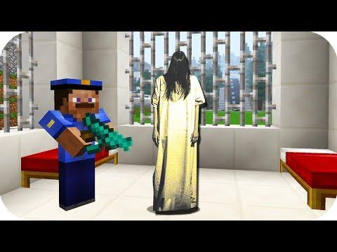 MEZARLIKTA AĞLAYAN KIZ YAKALANDI! - Minecraft