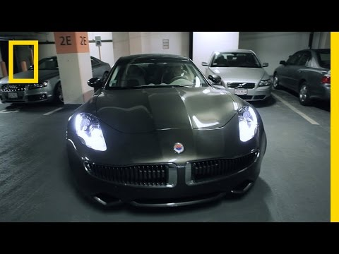 Photo of Patrice Bergeron Fisker Karma - car