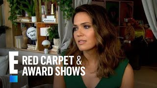 mandy moore reveals if she prefers being blond or brunette e live from the red carpet