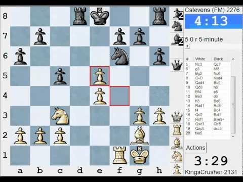 Chess World.net: LIVE Blitz #1192 vs Cstevens (FM) (2276) - Sicilian: Kan, 5.Nc3 (B43)