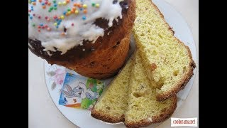 Рецепты к Пасхе. Бабка с лимонными цукатами