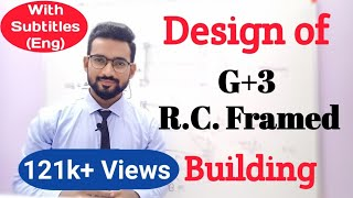 Design Of G+3 R.C. Framed Building (Part-1)