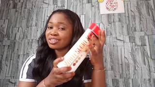 White secret lightening body lotion review