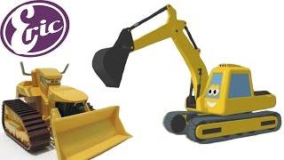 Дорожно-строительные машины 1-я серия(Сегодня Эрик приехал на выставку дорожно-строительной техники! И познакомился бульдозером, минипогрузчико..., 2016-07-11T06:07:02.000Z)