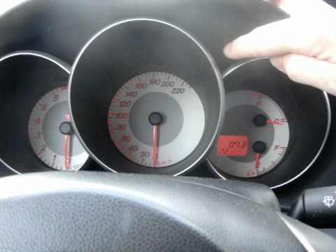 Mazda Test Cuadro Instrumentos YouTube