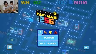 Pac Family Gathering - Lets Play Pac Man 256!
