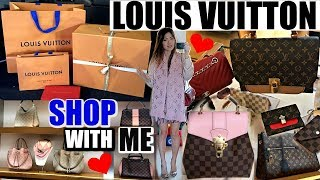 COME TO LOUIS VUITTON WITH ME 🙋🏻💋2018 NEW RELEASES (+GRWM) | ❤️ CHARIS