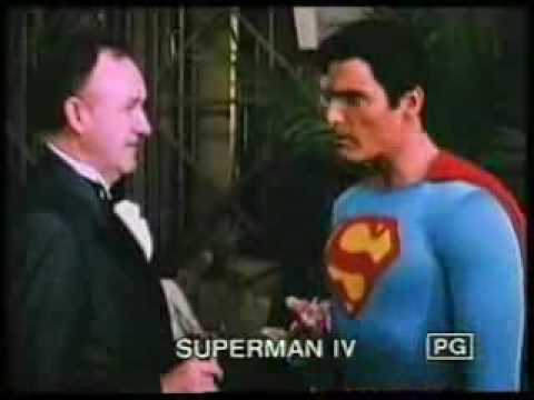 Superman IV The Quest of Peace official Trailer