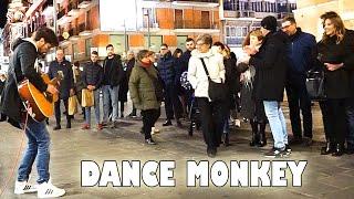 Dance Monkey - live cello imitation on guitar