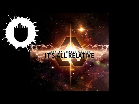 Arty Feat. Jenson Vaughan - It's All Relative (Cover Art)
