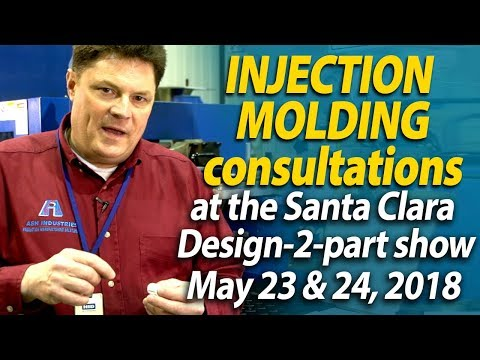 Free parts consultation at the Santa Clara Design-2-part show - Ash Industries