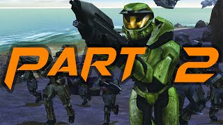 Halo Combat Evolved PC - Gameplay with Trainer and Modded Weapons - Part 2