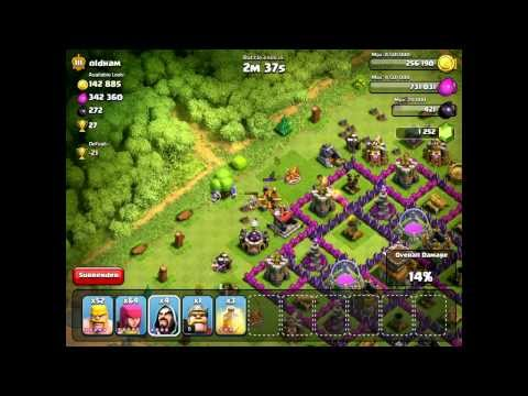 Clash Of Clans / Barbarian King IRON FIST!