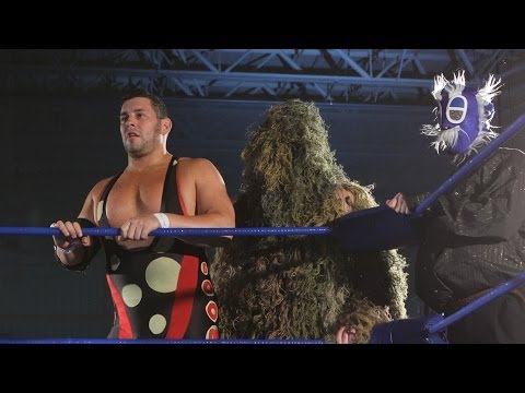 Scott Parker & Shane Matthews & Ebessan & Takoyakida vs Colt Cabana & Swamp Monster & Darkness Cra