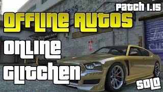 GTA 5 Online | AUTOS VOM SINGLEPLAYER IN MULTIPLAYER MODUS GLITCHEN | after patch 1.15 | Deutsch