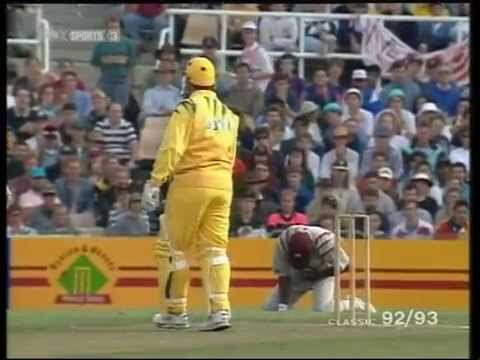 GREATEST ONE DAY MATCH- Australia make pathetic 101 runs yet win the match! CRICKET