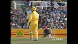 GREATEST ONE DAY MATCH- Australia make pathetic 101 runs yet win the match! CRICKET
