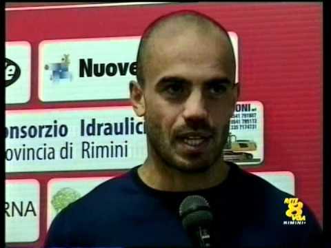 Interviste a U. Pica e R. Piccolo (Real Rimini) -  M. Brighi e A. Mastronicola ( A.C. Rimini 1912)