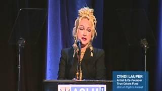 ACLU SoCal honors Cyndi Lauper (presented by Fran Drescher)