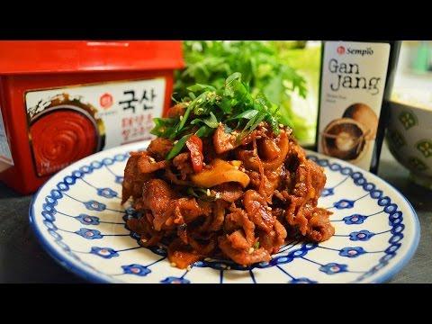 Korean Spicy Pork Recipe
