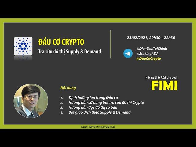 Đầu cơ Crypto theo Supply & Demand