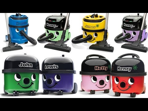 FABULOUS VARIATIONS of Numatic Vacuum Cleaners ~ The BEST of Henry the Hoover Family 2017