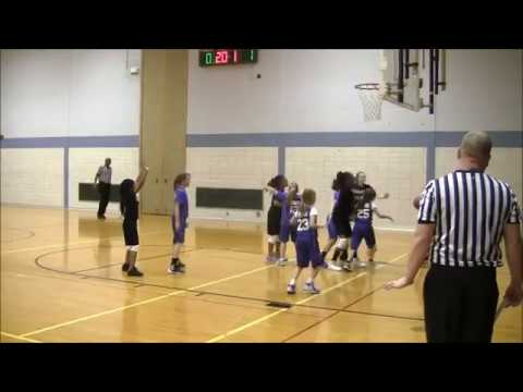 St Mary vs East Washington Academy Muncie City Tournament 4th/5th grade girls basketball