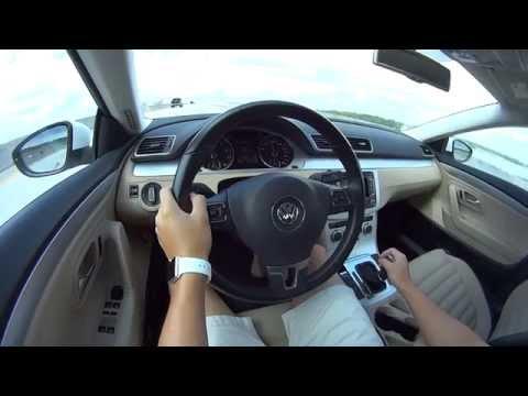 2013 Volkswagen CC POV Test Drive