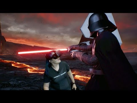 ILMxLAB Star Wars Unreal Engine VR Demo on Mac   WWDC 2017