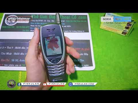 Nokia 6650 - 6651 chính hãng | Điện thoại di động 3G đầu tiên của Nokia