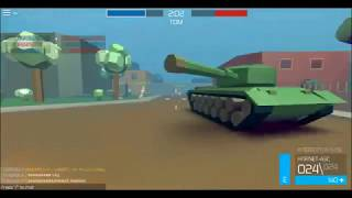 ROBLOX POLYGUNS challenging war game [was very difficult]