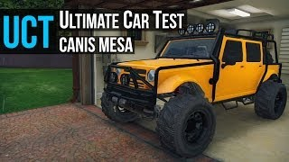GTA 5 - Ultimate Car Test: Mesa Offroad ( Merryweather Security Jeep )