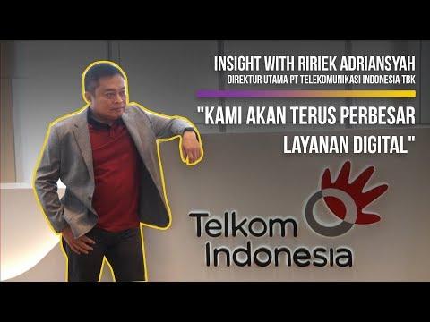 Insight With Ririek Adriansyah, Direktur Utama PT Telekomunikasi Indonesia Tbk
