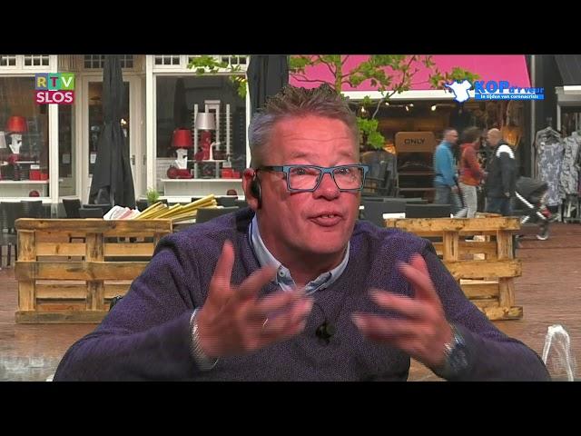 De postbodes van Steenwijk in de uitzending van Kop d'r Veur op 1 juli 2020