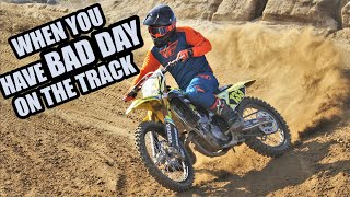 Bad day at MX track - how to stay safe VLOG