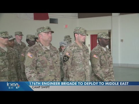 176th Engineer Brigade will send troops to the Middle East