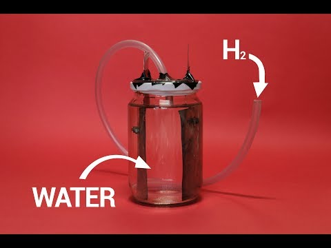 How To Make Hydrogen Generator At Home | Water Electrolysis |